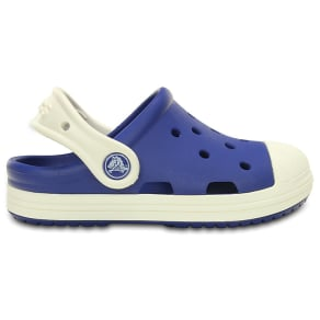 Crocs Cerulean Blue / Oyster Kids' Crocs Bump It Clog Shoes