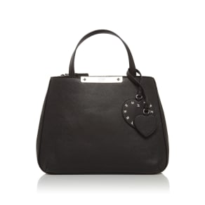 Guess Britta Small Society Satchel Bag, Black