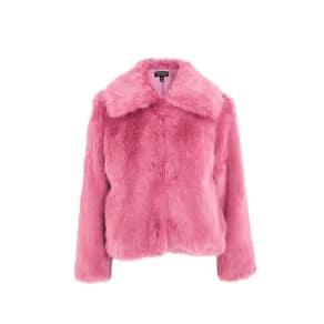 Womens Claire Luxe Faux Fur Coat
