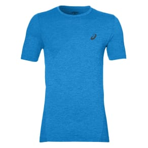 Asics Seamless Short Sleeve Training T-Shirt, Blue