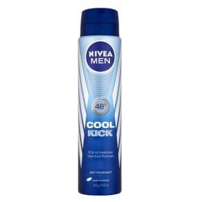 Nivea Men Cool Kick Anti-Perspirant Deodorant Spray 250 Ml