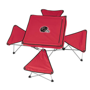 Nfl Table With 4 Stools - Falcons