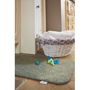 Hug Rug Original Plains Doormat Sage Green 65x150, Green