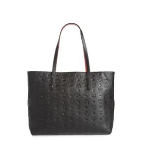 Mcm Klara Monogrammed Leather Shopper -