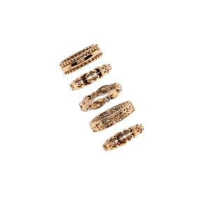 Ornate Stackable Ring Set