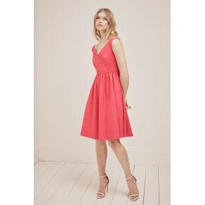 Glass Stretch Bardot Dress - Azalea