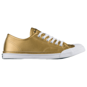 Womens Converse Jack Purcell Lp Ox - Gold/White/White