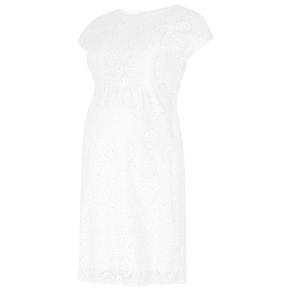 Seraphine Harley Broderie Anglaise Nursing Maternity Dress, White