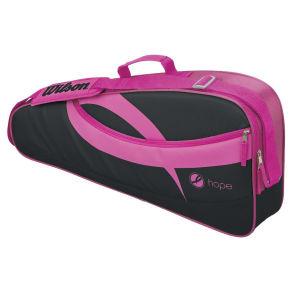 Wilson Hope 3 Racquet Tennis Bag - Pink/Black