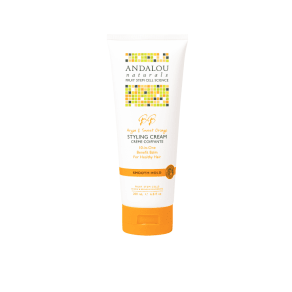 Andalou Argan & Sweet Orange Smooth Hold Styling Cream 200ml - 200ml, Orange