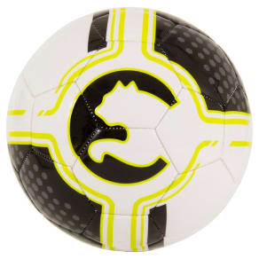 Puma Procat Size 3 Soccer Ball - Black/Yellow, Pale Yellow