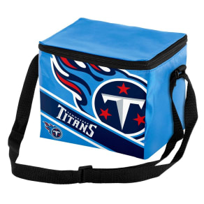 Tennessee Titans Forever Collectibles Striped 6 Pack Cooler