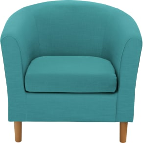 Colourmatch - Fabric Tub Chair - Lagoon