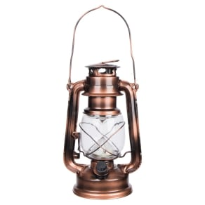 Wemco Men's Cabin Life Copper (Brown) Portable Lantern - Copper