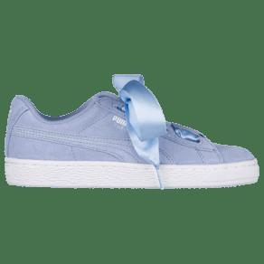 Girls Puma Suede Heart - Grade School - Lavender Luster