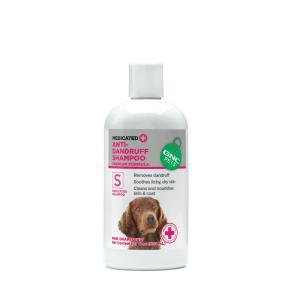Medicated Anti-Dandruff Shampoo - Pink Grapefruit - 17 Fl. Oz. - Gnc Pets - Skin and Coat Health