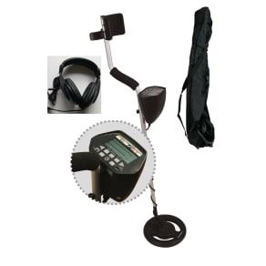American Hawks Gold Silver Metal Detector Lcd Display With Carry Bag & Headphone High Performance Treasure Hunting Explorer Ii