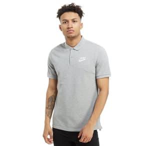 Nike Foundation Polo Pique Shirt - Grey - Mens