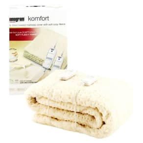 Monogram by Beurer Komfort Heated Mattress Cover-King Size/Dual