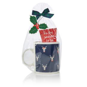M&S Collection Grumpy Stag Mug Set