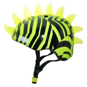 Krash! Dazzle Led Lighted Mohawk Youth Helmet - Green