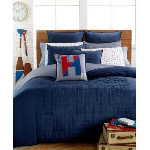 Merveilleux Tommy Hilfiger Academy Navy King Duvet Cover Bedding