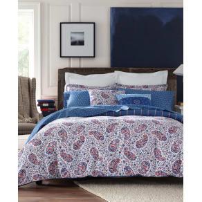 Tommy Hilfiger Tottenham Reversible Paisley Full/Queen Comforter Set Bedding