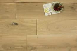 Solid Natural Oak Light Brushed Unfinished 20mm By 180mm By 500-1900mm