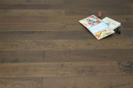 Natural Engineered Flooring Oak Coffee Brushed UV Oiled 14/3mm By 190mm By 1900mm