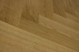 Prime Engineered Flooring Oak Herringbone UV Lacquered 143mm By 126mm By 1000mm