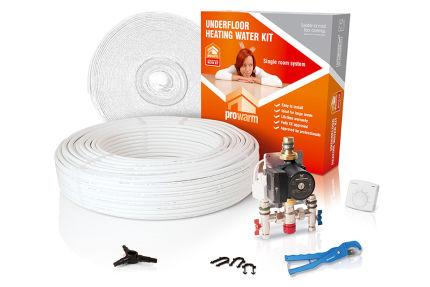 High Output Water Underfloor Heating