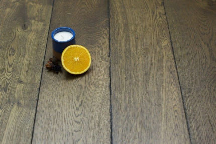 Natural Engineered Flooring Oak Reclaim Brown Brushed UV Oiled 20/5mm By 180mm By 1900mm