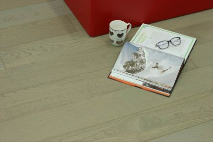 Natural Engineered Oak UK Grey Uv Oiled 20/6mm By 190mm By 1900mm