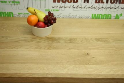Full Stave Select American Oak Worktop Elite 38mm By 620mm By 2500mm