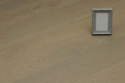 Natural Engineered Flooring Oak Spring Grey Brushed UV Oiled 14/3mm By 190mm By 1900mm