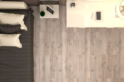 Matisse White Grey Oak Laminate Flooring 12mm By 159mm By 1380mm