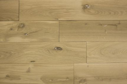 Natural Engineered Flooring Oak Brushed Unfinished 14/3mm By 190mm By 400-1500mm