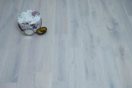 Natural Engineered Flooring Oak Click London White UV Oiled 14/3mm By 190mm By 400-1500mm