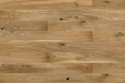 Natural Engineered Oak Click Brushed UV Oiled 14/3mm By 190mm By 400-1500mm