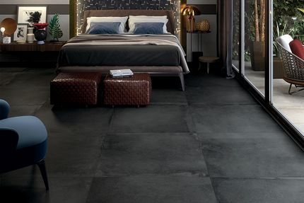 Porcelain Tile Cosenza Negro 300mm By 600mm