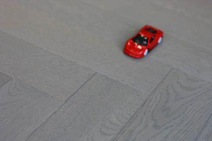 Prime Engineered Flooring Oak Herringbone Spring Grey Brushed UV Oiled 15/4mm By 90mm By 600mm
