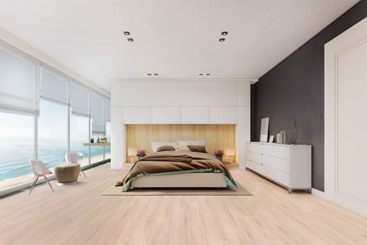 Beaufort Oak Laminate Flooring 8mm By 193mm By 1380mm