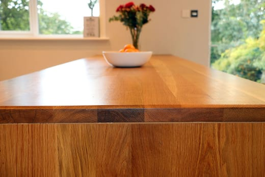 Full Stave Premium Oak Worktop 40mm By 620mm By 3900mm