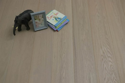 Prime Engineered Oak Click Paris White Brushed UV Oiled 14/3mm By 190mm By 1900mm