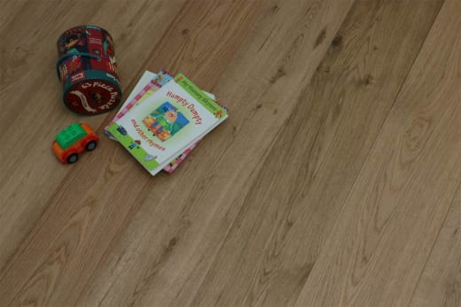 Natural Engineered Oak UV Lacquered 14/3mm By 190mm By 1900mm