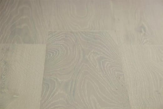 Natural Engineered Flooring Oak Double White Brushed UV Lacquered 14/3mm By 190mm By 400-1500mm