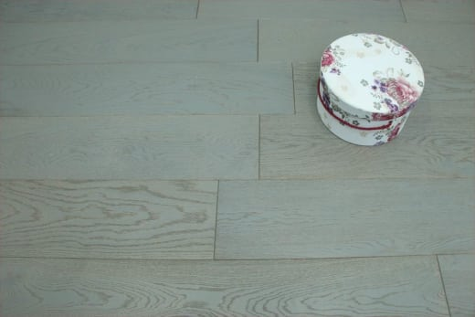 Natural Engineered Oak Click London Grey UV Oiled 14/3mm By 190mm By 400-1500mm