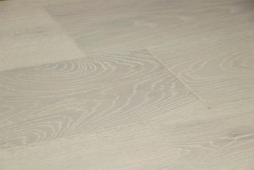 Prime Engineered Flooring Oak Click Double White Brushed UV Matt Lacquered 14/3mm By 146mm By 1000-2400mm
