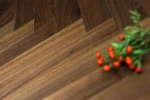 Prime Engineered Flooring Walnut Herringbone UV Lacquered 15/4mm By 90mm By 600mm