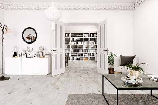 Renaissance Pine Laminate Flooring 12mm By 159mm By 1380mm